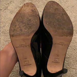 LK Bennett Shoes - LK Bennett Sledge in Black Patent Leather
